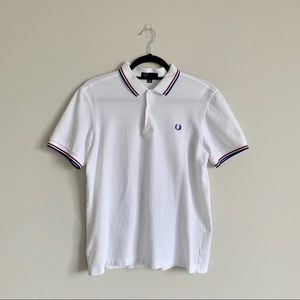 Fred Perry White Polo